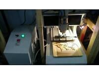 cnc mill router engraver, engraving machine, hpc laserscript