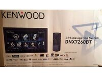 Kenwood GPS Navigation System and Two Backseat Screens