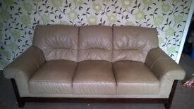 cream spfa with armchairs