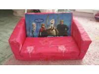 Frozen mini sofa 2in1