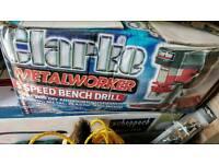 Clarke bench drill