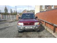 For sale mitsubishi shogun spares or repairs