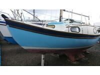WESTERLY 22 ,4 BERTH SAILING CRUISER.£2950