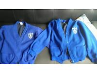 Two Rosslyn park primary school cardigans free