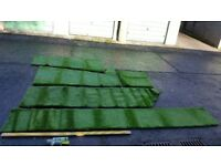 Artificial grass offcuts/ remnants- High quality- 25mm thick- 8.5m2 available
