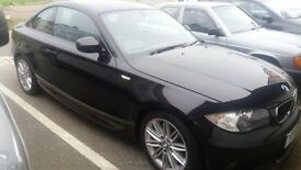 Bmw m sport coupe 120d low mileage