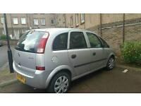 Vauxhall Meriva Silver 1.6 petrol 2004