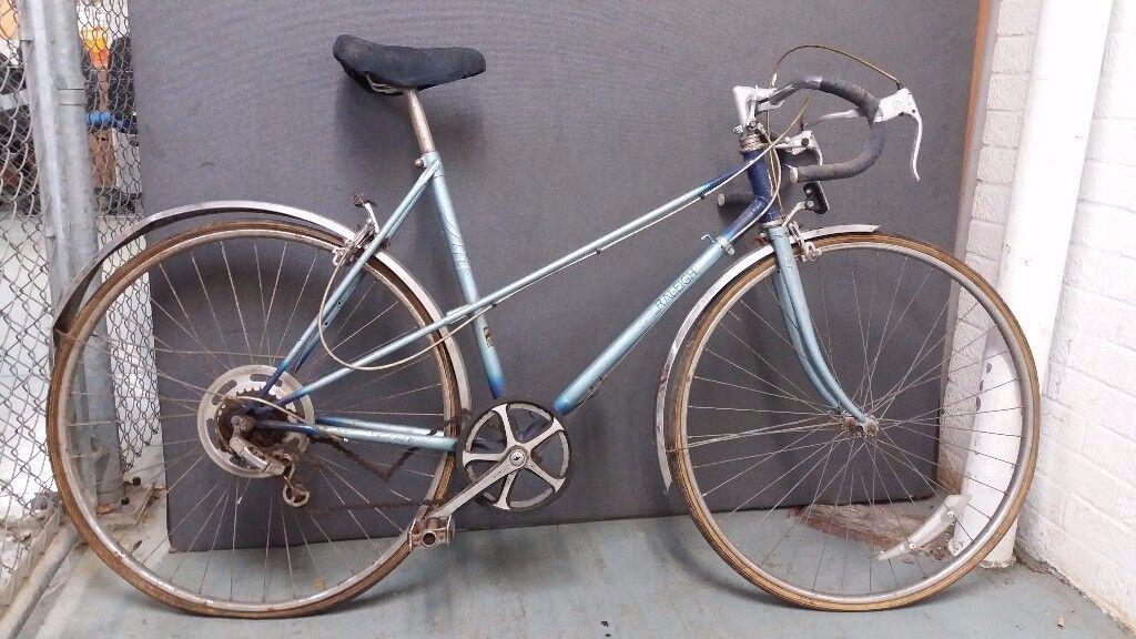 Vintage - Raleigh Wisp B4 Ladies Vintage Bike - Restoration Project