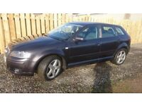 Audi A3 Sport 2.0LTDI Quattro, MOT Sept 2018 New Tyres and other parts, Full documented History