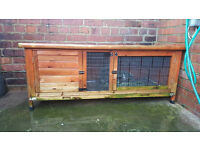 rabbit hutch + more (just over 4ft)