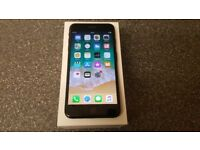 Boxed iPhone 7 Plus Jet Black 128gb O2/Tesco/Giff Gaff network