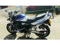Suzuki bandit limited edition 1200 metallic blue 2006.