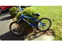 Child BMX Bicycle - Reflex Riptide bike with front fork suspension - 6 gears