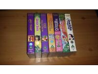 AVAILABLE IF LISTED. 7 DISNEY VHS TAPES FOR SALE. Good Condition.