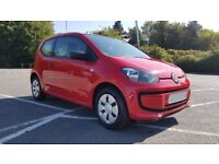 2013 (63) 1lt Red 3 door VW UP! £20 a year TAX
