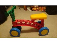 Toddlebike- Pre balance bike for toddlers (indoor or outdoor)