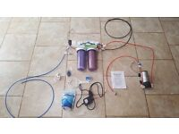RO system for marine