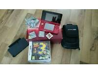 Nintendo 3ds with games & accessories