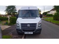 Vw crafter. Full print out of mileage history. 11 months mot
