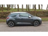 2016 (66) DS DS3 ELEGANCE 1.6 BLUEHDI S/S - ONLY DONE 9000 MILES (FORMERLY CITROEN DS3)