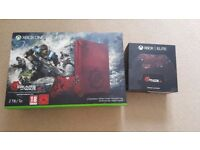Gears Of War 4 Limited Edition Xbox One S 2TB Console and Elite Controller