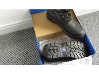 Size 10 Steel Toecap Safety Workboots Brand New