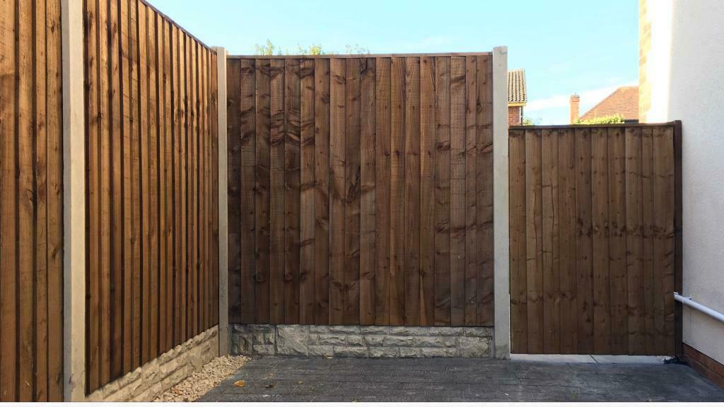 Fencing Panels Gravel Boards Picket Fencing Gates Featheredge Turfing Landscaping Services In Gedling Nottinghamshire Gumtree