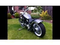 Xvs 650 custom bobber chopper motorcycle harley