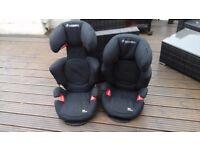 2 x Maxi cosi Rodi AirProtect child car seats.