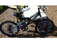 "Dunlop kids' mountain bike - approx 16"""
