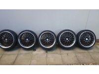 Dotz 19inch vw alloy wheels / tyres