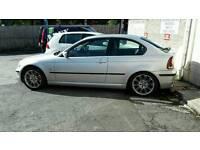 BMW E46 Compact 316ti (not 1 series, coupe', mx5, vxr, 5 series etc)