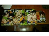 Dragon Ball Z graphic novels and DVDs
