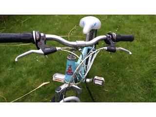 "DIVA 20"" inch girls Fancy BMX Bike BLUE in Excellent Working Condition"
