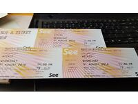 Wicked Theatre Tickets for 31st August 2.30pm