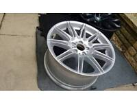 Bmw Alloy wheels mv3 mv4 style 313 m3 3series. Spare replacement Singles.