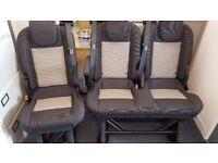 Ford transit custom rear seats , Titanium Folding Triple Bench seats