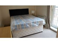 Free King Size Divan Bed with Mattress