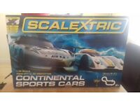 Scalextric Continental Sports Car Race Set (2 sets in one box)
