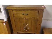 1 drawer 2 door chest - wenge