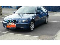 BMW COMPACKED 1.8 12 months MOT