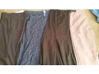 Bundle 2 trousers and 2 skirts size 12