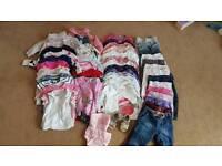 Baby girl 12-18 clothes bundle
