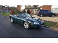 Jaguar Convertible XK8 4.0 2dr in elegant British racing green
