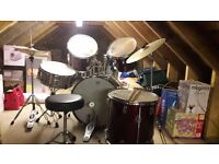 7 piece drum kit