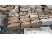 Sandstone quoins x 60