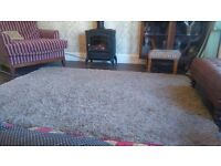 Gorgeous quality beige rug