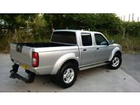Nissan Navara Pick Up Truck Double Cab 2005 Very Low Miles