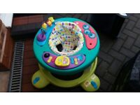 Baby walker play station good condition no longer needed. Clean and ready to go.