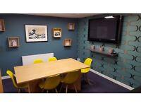 Desk available in fun, creative, positive working environment - Leith, Edinburgh